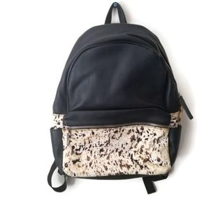 Steve Madden backpack calfhair animal print